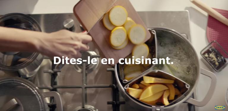 IKEA revient dans une nouvelle campagne sur la Cuisine