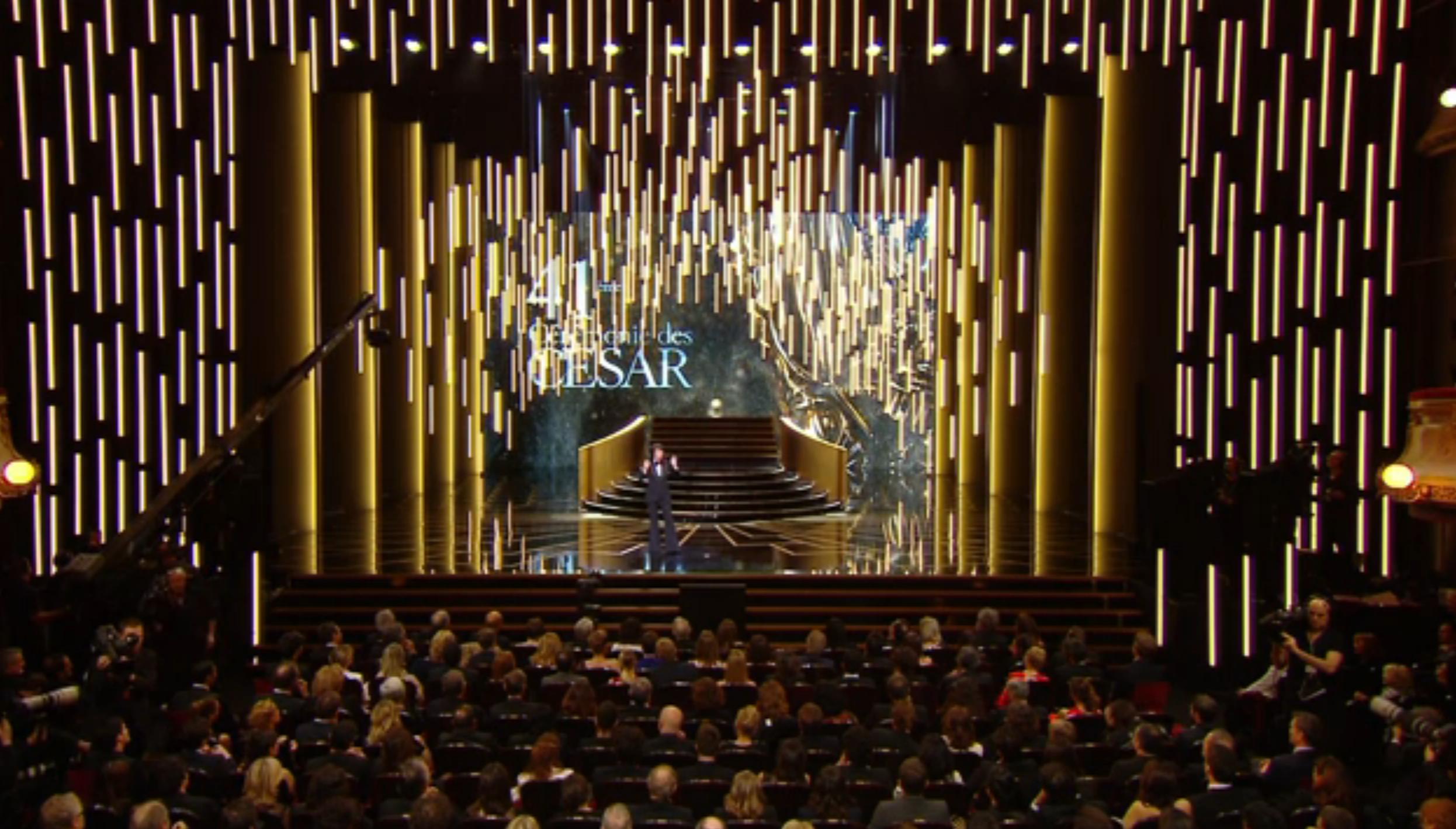 La 41e cérémonie des César s'est tenue au Théâtre du Châtelet vendredi 26 février sous la présidence de Claude Lelouch