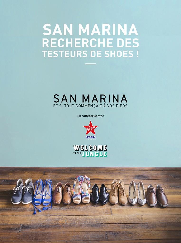 Job de rêve : San Marina recherche des testeurs de chaussures pour sa nouvelle collection