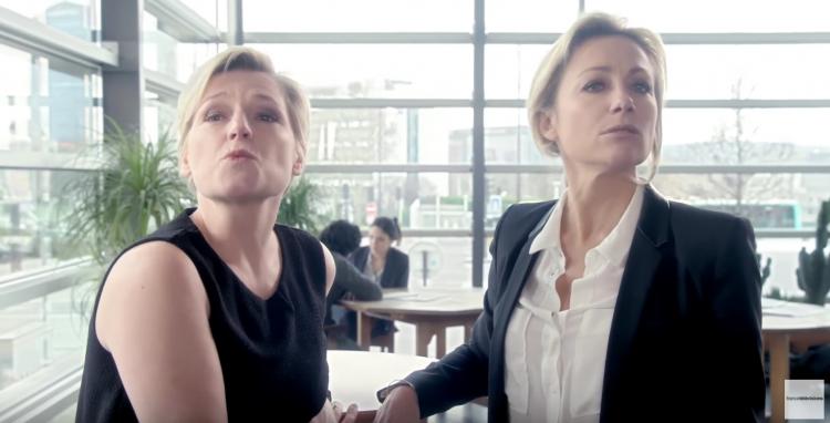 France Télévisions inverse les codes pour la journée des femmes