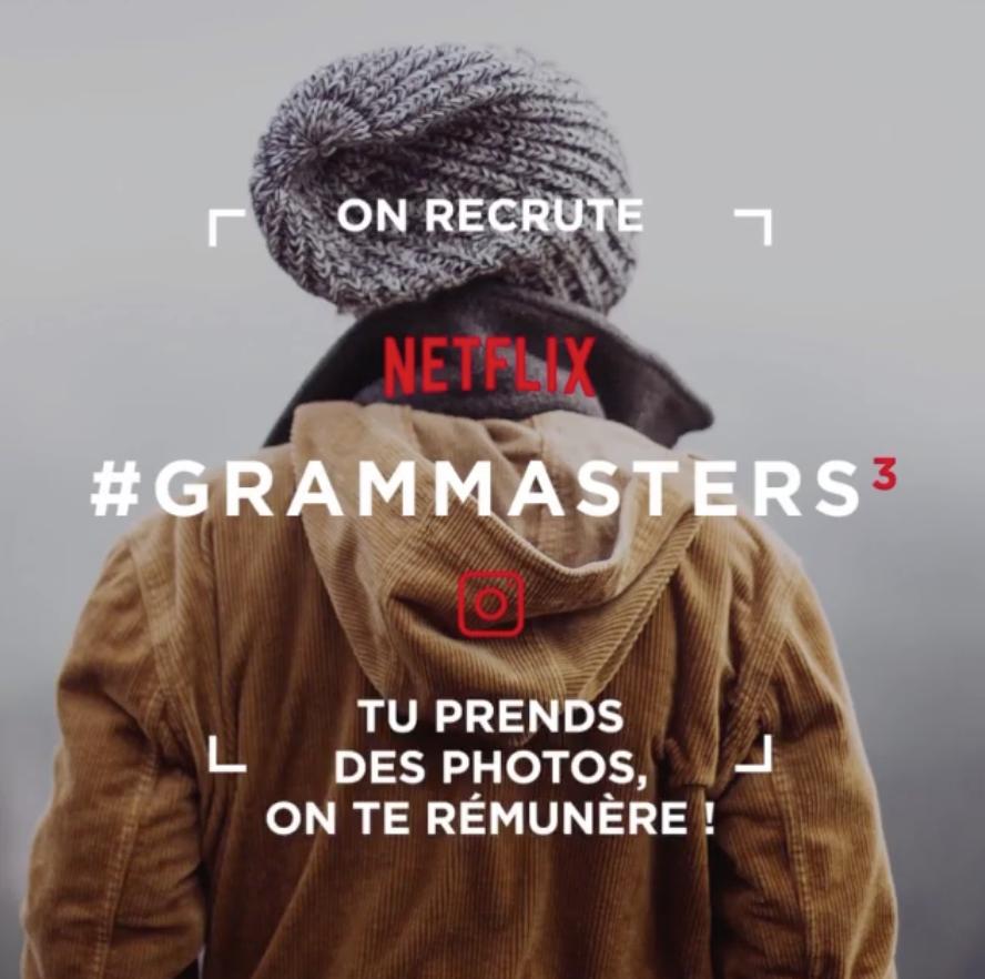 Netflix propose un job de rêve aux fans de séries qui consiste à voyager prendre des photos et les publier sur Instagram tout en étant payé !