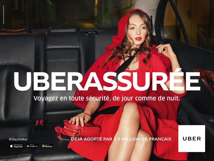 Avec Uber voyagez en toute sécurité de jour comme de nuit