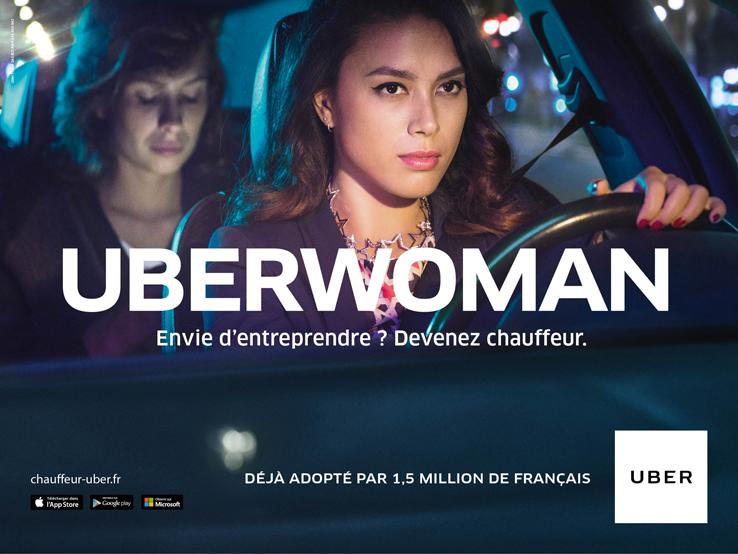 Uber donne la possibilité à tous d'entreprendre et devenir chauffeur