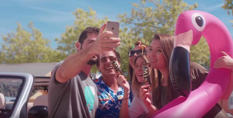 Les chanceux se verront livrer 4 Magnum gratuitement par Uber en E-Mehari