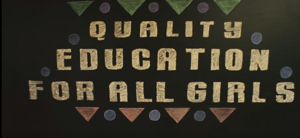 fin du mariage infantile, meilleure qualité d'éducation pour toutes les filles, fin des violences faites aux femmes ou encore salaire égal, les messages s'enchaine dans le clip de l'ONG The Global Goals