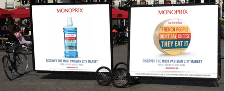 Des affiches seront présente un peu partout dans les lieux touristiques de la capitales