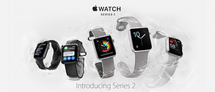 L'Apple Watch 2 : une montre étanche et de nouveaux bracelets