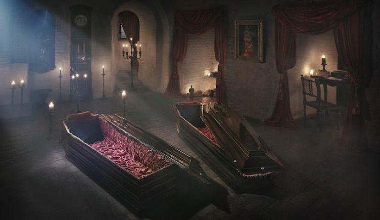 Une nuit dans un cercueil chez Dracula ça vous tente pour Halloween ? Rdv sur le site Airbnb