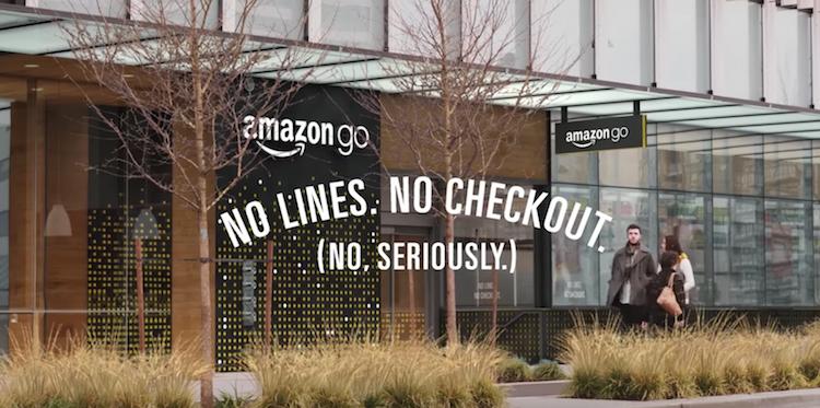 Amazon dévoile un concept store unique qui permet d'acheter ce que l'on veut sans passer par la caisse