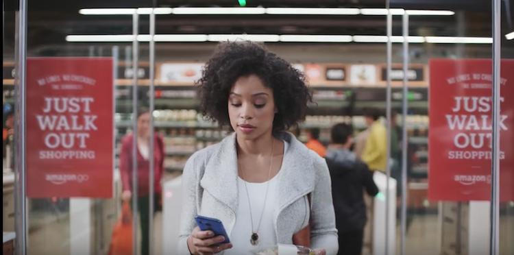 chez Amazon Go, les clients se servent et repartent sans passer par la caisse