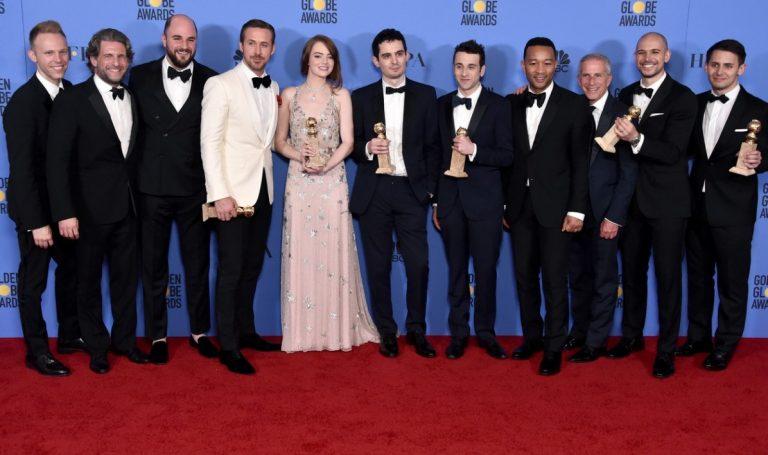 7 nominations, 7 prix pour La La Land qui triomphe aux Golden Globes