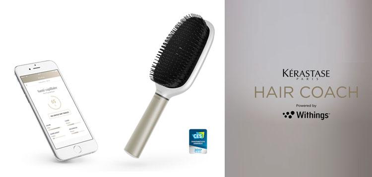 L'Oréal et Kérastase s'associent à la technologie Withings pour déployer une brosse connectée pour analyser et sublimer sa chevelure