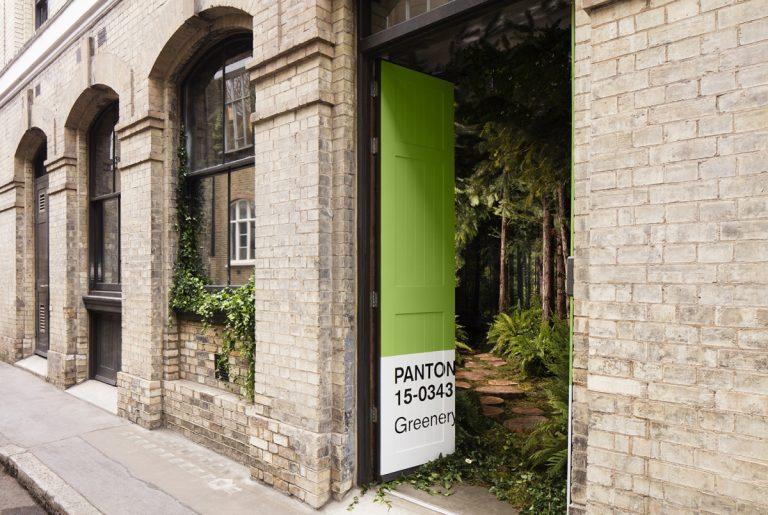 Avec cette maison Pantone et Airbnb font rentrer la nature à l'intérieur pour une escapade relaxante en plein Londres