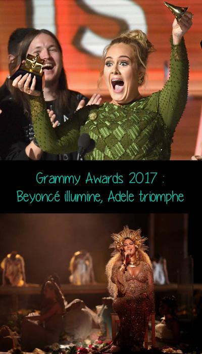 Beyoncé et Adele ont toutes deux marquées la soirée par leur prestation et leurs récompenses