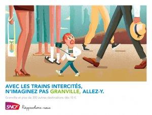Granville : une ville de géants ? Allez vérifier avec les trains intercités de la SNCF