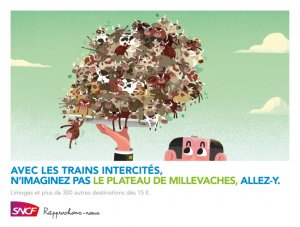 Un plateau avec 1000 vaches à Limoges ? Le mieux est d'aller vérifier avec la SNCF