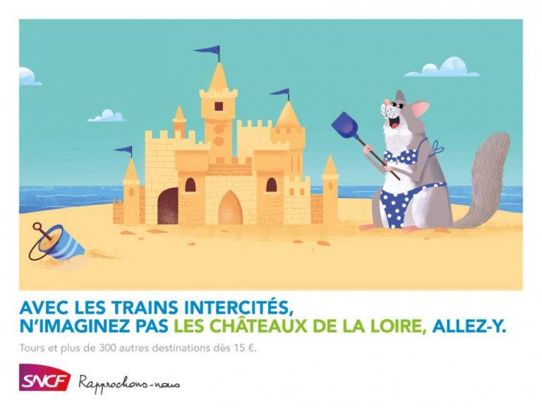 TBWA imagine une campagne décalée pour promouvoir les trains intercités de la SNCF