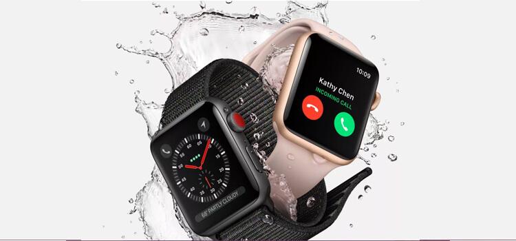 Apple a présenté l'Apple Watch Series 3 qui sera aussi rechargeable sans fil