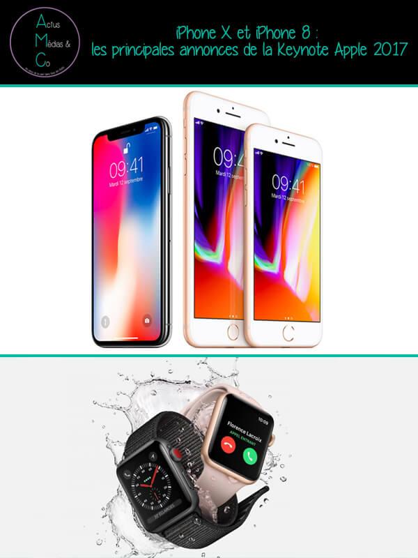 La traditionnelle Keynote d'Apple a dévoilée trois nouveaux iPhone dont un iPhone anniversaire pour les 10 ans de l'appareil