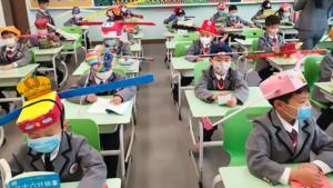 Alors que les écoles françaises s'apprêtent à réouvrir leurs portes, voici une initiative insolite de la ville de Hangzhou en Chine qui pourrait nous inspirer...