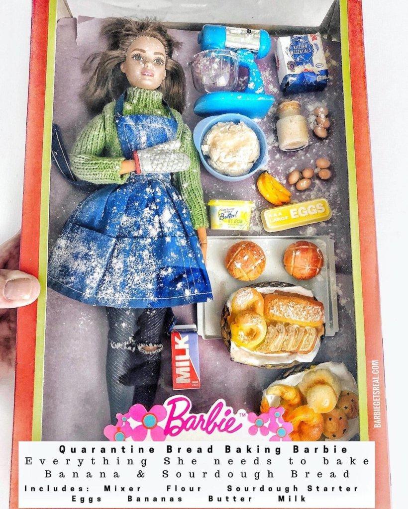 La Barbie qui cuisine