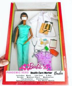 La Barbie infirmière