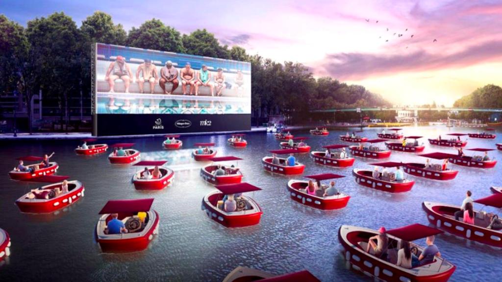 Samedi 18 juillet 2020, dès 19h30, quelques privilégiés vont pouvoir se faire une toile gratuite, à la fraîche, depuis le bassin de la Villette à Paris (19e).