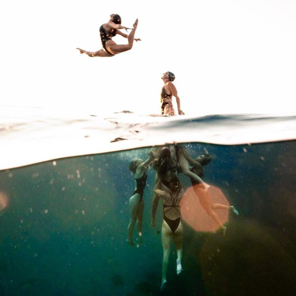 des photos prises en pleine mer par Alex Voyer