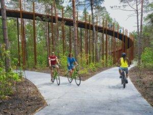Une véritable attraction touristique pour tous les amoureux du vélo, de la nature