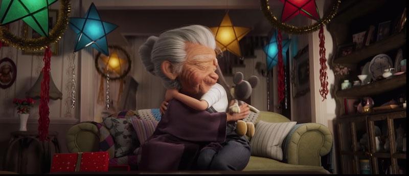 A l'approche des fêtes de fin d'année, la firme aux grandes oreilles vient nous émouvoir avec un court métrage publicitaire qui met en lumière la famille et les traditions de Noël.