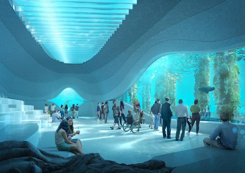 C'est encore un lieu atypique qui va bientôt voir le jour en Australie : l'Australian Underwater Discovery Centre, un centre dédié à l'exploration sous-marine